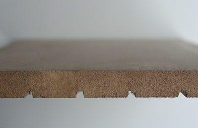 Massieve plank doorsnede