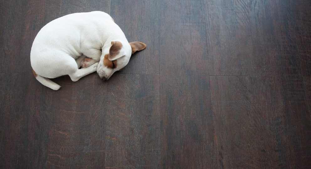 houten vloer in combinatie met vloerverwarming